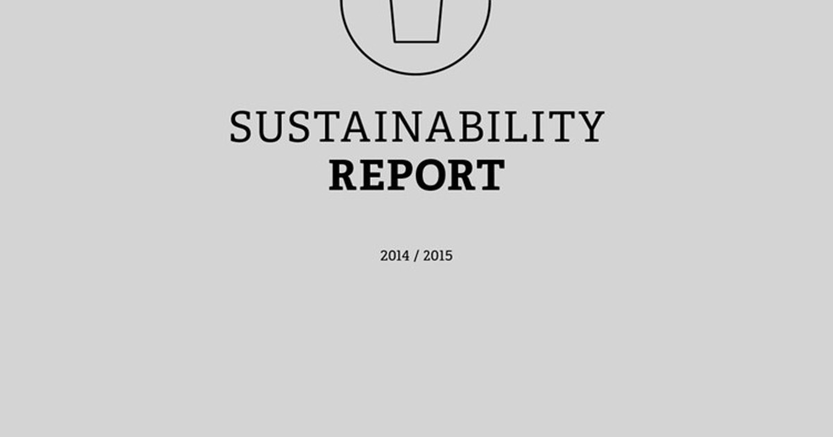 sustainability report essay Sustainability report hoe and grabby (2009) and kumar and putnam (2008) argues that sustainability in manufacturing processes is a foremost organizational concern throughout the world and is leading to firm regulations with regards to the influence of services and products throughout their manufacturing, use and end of life.